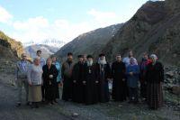 Паломничество в Южную Осетию Епископа Воронежского Кирилла с духовенством и прихожанами